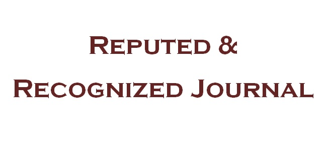 Recognized Journal